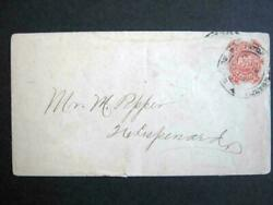 Scarce Local 20lu13 Boyds City Dispatch Envelope Tied By Boyds Dispatch Dcds