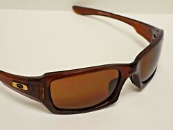 Authentic Oakley OO9238 07 Five Squared Polished Root Beer Bronze Sunglasses C $69.00