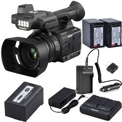 Panasonic AG-AC30 Full HD Camcorder with 2x Batteries & AC/DC Charger Kit