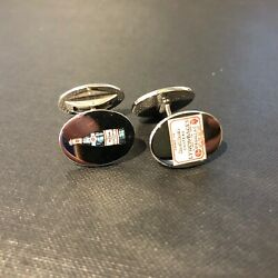 Lynch Bages Wine Bottle White Gold Cufflinks By Deakin And Francis