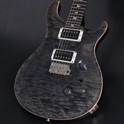 Paul Reed Smith(PRS) Custom 24 10top 1-Piece Quilt Maple Gray Black Pattern Thin