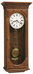 Howard Miller 613-110 (613110) Westmont Wall Clock - Oak Yorkshire