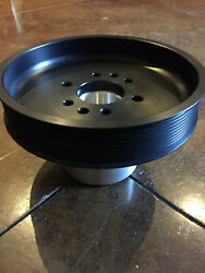 10 Rib 6.00 Supercharger Crank Pulley For Ford Sbf Mustang 5.0 F150 302/351