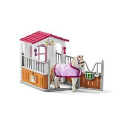 Horse Stall Stable Barn Farm Play Set Kids Toddler Toy Gift Boy Girl New