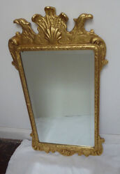 Friedman Brothers Colonial Williamsburg Gold Leaf Mirror Chippendale Style