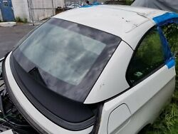 BMW 335i Complete convertible hard top and headliner assembly rear windshield