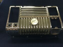 1947/1948 Plymouth Special Deluxe, Center Dash Bezel / Speaker Grill Cover It's