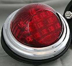 1942 1943 1944 Indian Motorcycle Chief / Standard / Scout Style Tail Light Led
