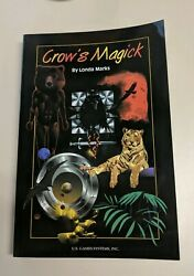 Crow's Magick Companion Book By Londa Marks. Brand New. Never Been Used. Rare And