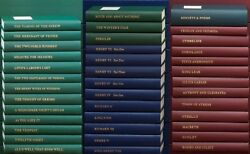 Folio Society  Oxford University Press COMPLETE WORKS OF SHAKESPEARE 39 vols