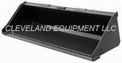 New 60 Low Profile Bucket Skid Steer Loader Compact Tractor General Purpose 5and039
