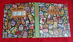 2011 Topps Lost Wacky Packages 3rd Series Official Binder Brand New