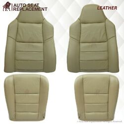 2003-2007 Ford F250 F350 Lariat Xlt Xl Fx Replacement Leather Seat Cover In Tan