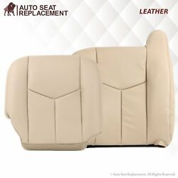 2003 2004 2005 2006 2007 Chevy Tahoe Suburban And Gmc Yukon Leather Seat Cover Tan