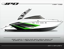 Ipd Ns Design Graphic Kit For Yamaha 242 Limited, Sx240, Ar240