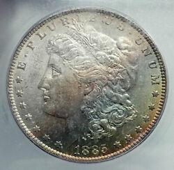 1885 United States Of America Silver Morgan Us Dollar Coin Eagle Icg Ms I78871
