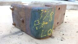 1937 1938 Chevy Right Lower Door Hinge Original Gm Coupe Sedan Delivery Front