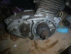 Harley Hummer 1956 St 2893 Motor Pretty Complete Matching S Cases