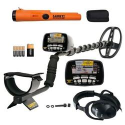 Garrett At Gold Waterproof Metal Detector With Headphones And Propointer At Pinp