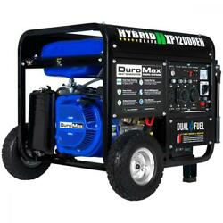 DuroMax 12,000 Max 9,500 Running Watts Dual Fuel Electric Pack, XP12000EH