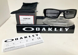 NEW Oakley Sunglasses GASCAN MATTE BLACK GREY 03 473 $67.74