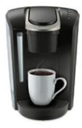 Single Serve K Cup Brewer Removable Drip Tray Programmable Design Matte Black