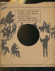 78 Rpm Company Logo Sleeves-pre-war-victor Orthophonic Orchestra