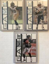 2002 Upper Deck Piece Of History Football The Big Game Insert Cards Lot You Pick