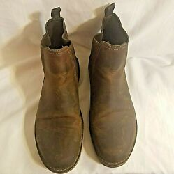 Clarks Bushacre Hill Mens Boot Brown Size 11.5 M