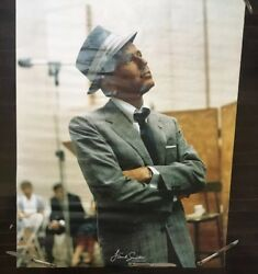 Vintage Frank Sinatra In Columbia Studio Poster Fedora Hat And Suit