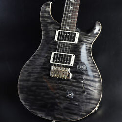 Paul Reed Smith(PRS) 2017 Custom 24 Quilt 10Top Gray Black Pattern Thin
