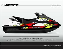 Ipd Rm Design Graphic Kit For Seadoo Gen-1 Gti