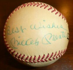 Mickey Mantle Signed Best Wishes Psa Dna Auto Baseball Autographed Ball