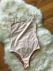 Nu Swim Lora One Piece Bathing Suit Delicate Blush Pink Size Small Ntow