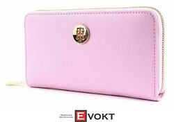 Th Core Large Zip Around Wallet Cash Pink Lavender Pink New