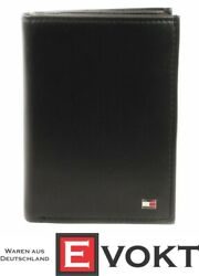 Eton Wallet N /s With Coin Pocket Purse Black Black New
