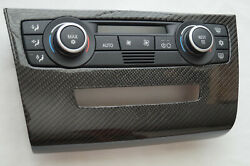 BMW E90 E92 E93 M3 E91 CARBON COVER Climate Control Panel Temperature Unit A/C