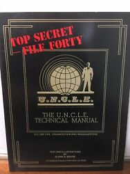 The U.n.c.l.e. Technical Manual Volume 1 Glenn A. Magee Man From Uncle