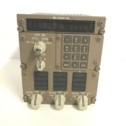 Boeing Aircraft Inertial Reference Mode Panel Cg1093ad01