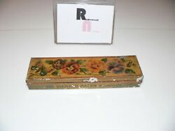 Diamond Match Tin,butterfly Matches,copper Flashed,large Container