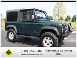 1997 Land Rover Defender Soft Top Sport Utility 2D 1997 Land Rover Defender 90 Soft Top Sport Utility 2D 80568 Miles Green SUV V8