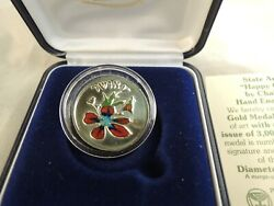 1989 Israel Happy Children / Happiness By Chaim Gross State Medal 7g Gold 14k