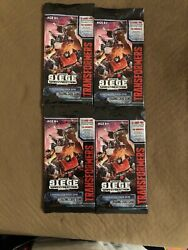 Sdcc 2019 Hasbro Transformers The Trading Card Game Convention Pack X4 In Hand