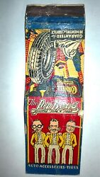 Rare Old Vintage The Pep Boys-auto Accessories,tires.. Matchbook.made In Usa