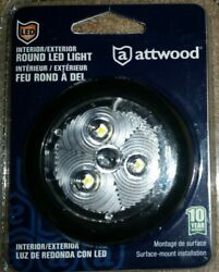 Attwood Led Round Cabin Courtesy Light Interior / Exterior - Free Shipping