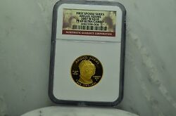 2007-w 10 Gold Commemorative First Spouse Abigail Adams Ngc Pf69 Ucam