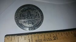 1938 Medal Quinnipiac 300th Anniversary Of New Haven Ct The Desert Shall Rejoice