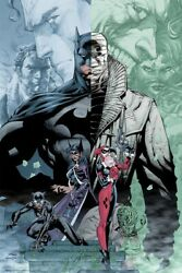 Sdcc 2019 Exclusive Signed Mondo Batman Hush Print By Jim Lee Only 275 Made