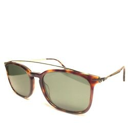 Persol 3173 24/31 Brown Tortoise Arch Bar Rectangle Sunglasses 54mm Msrp 360