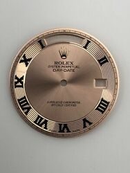 Genuine Everrose Dial For Rolex Day Date Rose Ii 218235